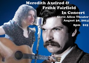 MEREDITH AND FRANK POSTER date and time