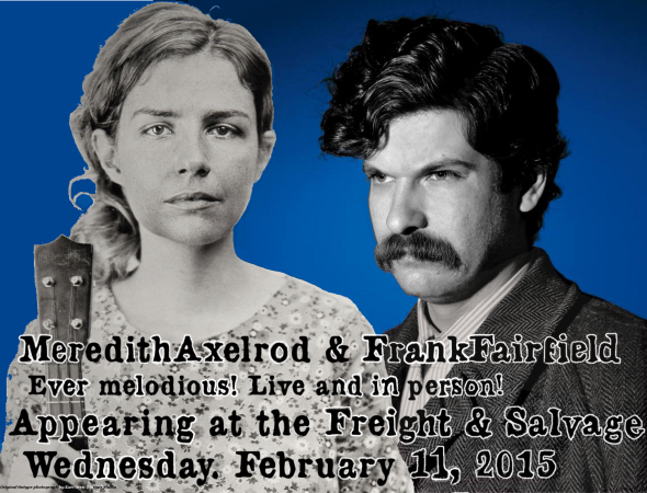 MEREDITH AND FRANK POSTER FREIGHT FIXED UP